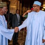 BREAKING: President Buhari Salutes General Gowon At 86, Calls Him A Gallant Soldier!!