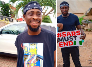 BBNaija - Tricky Tee Allegedly Requests N500k For Appearance Fee For Bayelsa #EndSARS Protest!!