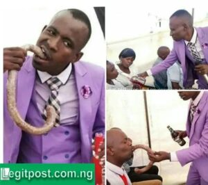 """""""The World Is Coming To An End"""", What a Pastor Was Caught Doing To Ladies In His Church Goes Viral!!"""