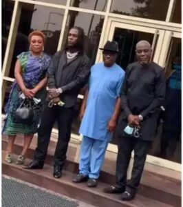 """After Burna Boy Called Governor Wike's Wife """"Our Wife"""", You Won't Believe What Happened Next!"""