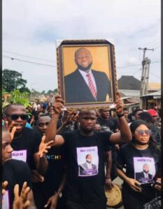 Tears, Tributes Flow As Only Child Killed By Dangote Cement Trailer Gets A Hero's Farewell (See Photos)