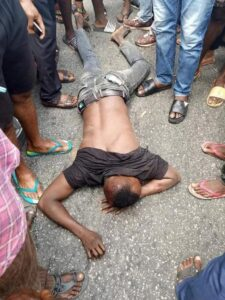 Suspected Thief Nabbed While Attempting To Steal Car From Church In Akwa Ibom!!