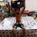 [JUST IN] Suspected Thief Nabbed For Allegedly Stealing Generator And Mattress In Delta Community!!!