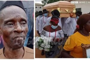 Father Of Ada Jesus Speaks After Burial, Says What His Daughter Told Him To Do When She Dies!!